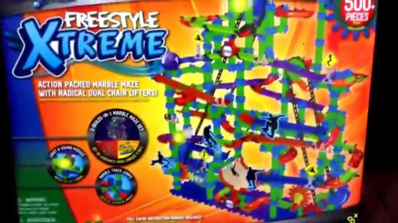 marble mania super freestyle instructions