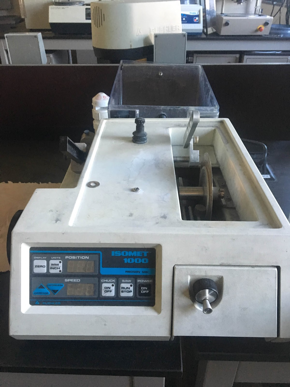 buehler isomet 4000 user manual