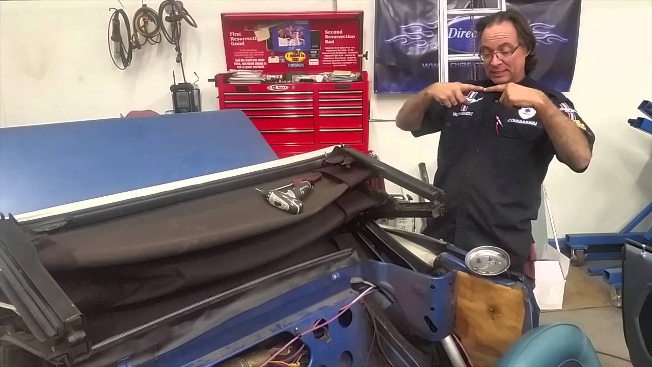 1966 mustang convertible top replacement instructions