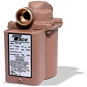 taco cartridge circulator 006 bc4 manual