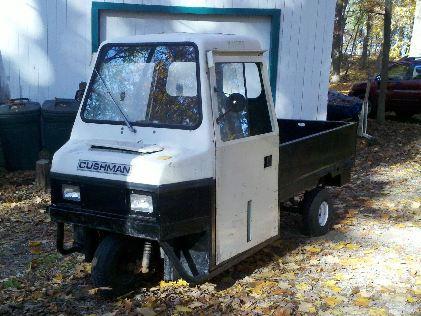 cushman 3 wheel truckster manual