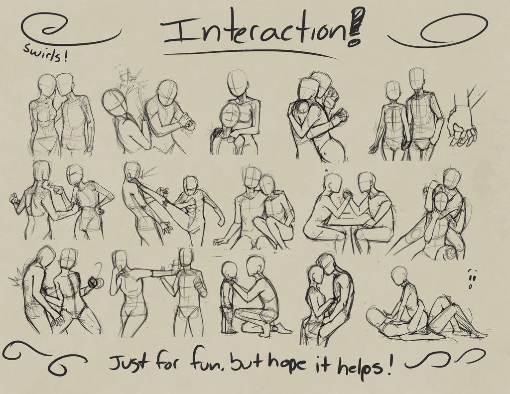 how to draw sex poses